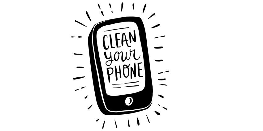 Covid 19 nettoyer son téléphone