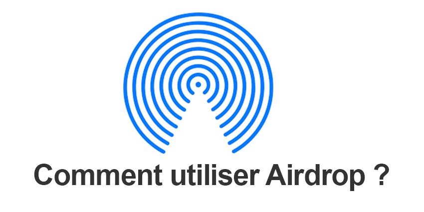 Airdrop : transférer ses données entre iPhone