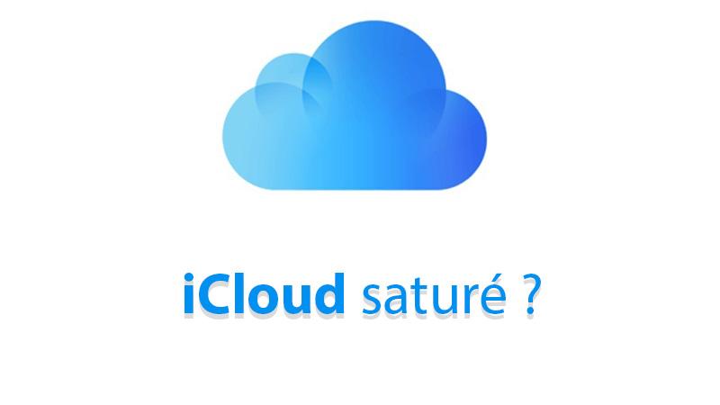 iCloud saturé