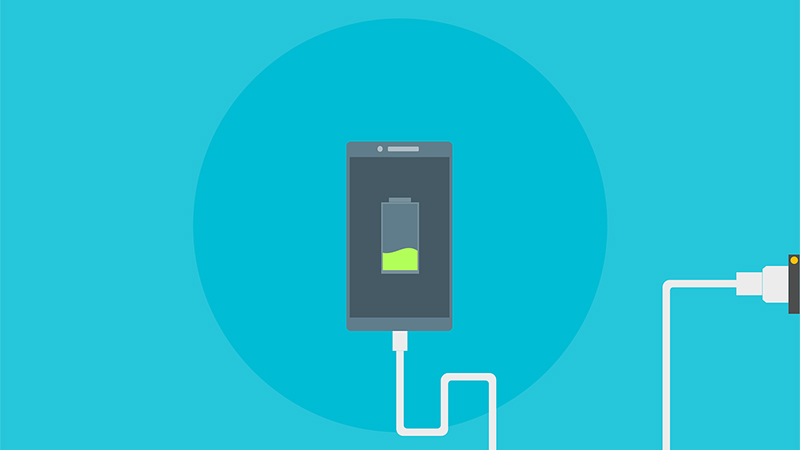 Charge rapide smartphone