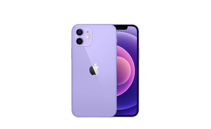 iPhone 12 en mauve !
