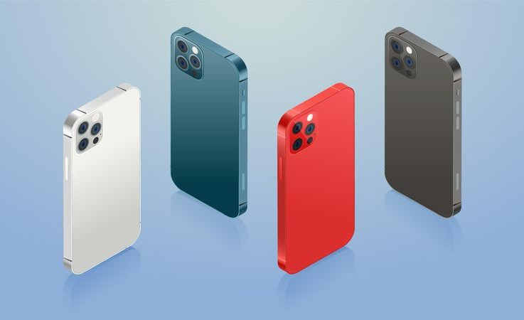 iPhone 12 4 couleurs