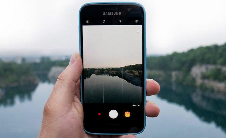 Retouche photo Samsung