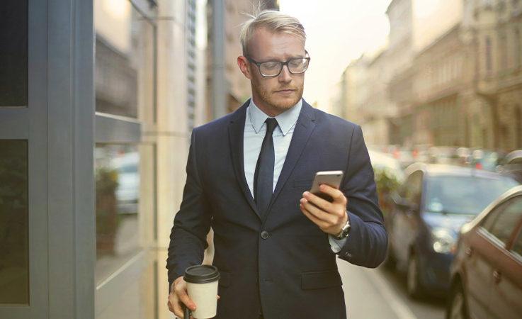 Marcher avec un téléphone Android