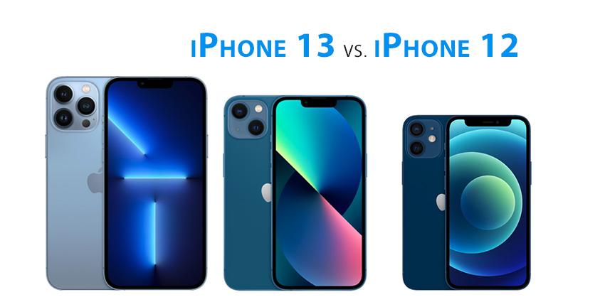Différences iPhone 13 et iPhone 12